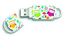Integral Xpression 16GB USB 2.0 Flash Drive USB Memory Stick Cute OWL Design