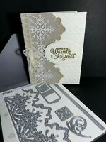 Stampin' Up! Swirly Snowflakes Thinlits Dies BNIP