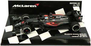 Minichamps McLaren Honda MP4-31 Chinese GP 2016 - Fernando Alonso 1/43 Scale