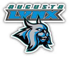 Augusta Lynx ECHL Hockey Logo Car Bumper Sticker Decal 5'' x 4''
