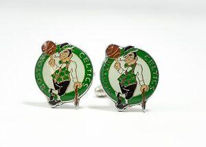 Boston Celtics Cufflinks NBA Basketball