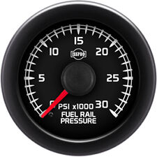 UNIVERSIAL DODGE FORD CHEVY ISSPRO R18288 EV2 FUEL RAIL PRESSURE GAUGE..