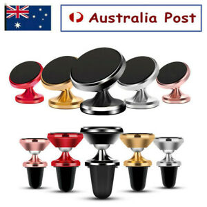 360 Degree Rotating Cell Phone Holder Car Magnetic Mount Stand Universal