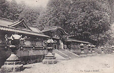 Carte postale ancienne JAPON JAPAN KOBE temple