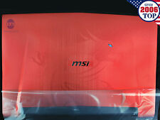 NEW MSI GT72 GT72S 1781 1782 LCD Back Cover 307-782A433-Y31 307-782A436-Y31 Red
