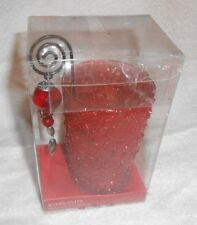 Kirklands Beaded Tealight Holder with Dangle  Brand NEW in Box
