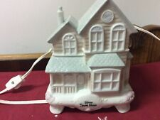 Nice Lighted Ceramic House For Your Christmas Village 1989 By Fabrizio