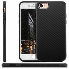 "Carbon back cover para iPhone 7 iPhone 8 4,7"" funda de silicona, funda protectora, funda, protección bolsa s"