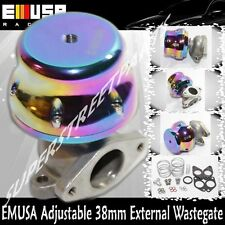 Emusa 38mm wastegate CHAMELEON Turbo adj. two bolts 4 6 8 10 PSI 4 springs