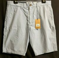 MEN'S JEANSWEST ASHCROFT TAILORED SHORTS SLIM COTTON BLUE SIZE 38 NWT RRP $59.99