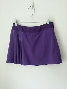 Women's Athleta Backspin Skort/Skirt Tennis Purple Medium