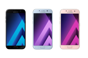 Samsung Galaxy A3 2017 16GB Unlocked 4G LTE Android Smartphone Various Colours