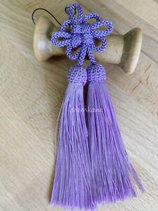 Flower Fusa Tassel Strap Japanese Lucky Charm