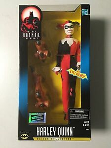 "Harley Quinn Batman Adventures Hasbro 12"" Action Collection Action Figure NIB BN"