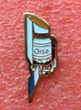Pins ÉCUSSON ESA SATELLITE ISO OBSERVATOIRE SPATIAL Vintage Badge Lapel Pin