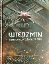 The World Of The Witcher - Video Game Compendium - Artbook - Brand New - Polish