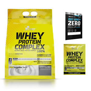 OLIMP Whey Protein Complex 100% (Concentrate + Isolate) 2270g FREE SHIPPING
