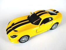 Dodge Viper SRT gts 2013 Modellauto 1:36 diecast model car Kinsmart,gelb