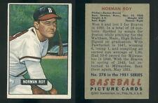 (43504) 1951 Bowman 278 Norman Roy Braves-EX+
