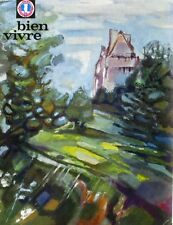 Bien Vivre n°55 - 1966 - L'Indre - Gastronomie - Tourisme - Beaux Arts