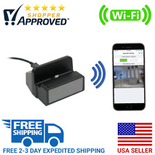 1080P HD WiFi Live Streaming Android Charging Dock Hidden Spy Cam Nanny Camera