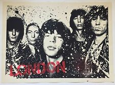 """""""The London Years"""" - Mr Brainwash -2009 Signed/#'d Hand Sprayed - Rolling Stones"""