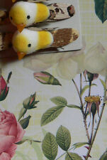 MiniFoamBird YELLOW- Brown Wing 2pk-13mmHigh x 28mmLong x15mmWideTouch of Nature
