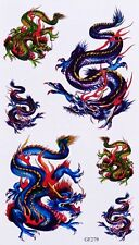 Tatouage Temporaire Dragon 6 Stickers