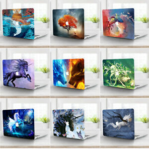 """For Macbook Pro 13"""" 15"""" 16"""" Laptop Hard Case Keyboard Cover Screen Protector AN"""