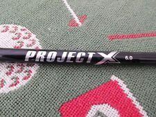 New Uncut Project X 6.0 Black Stiff Driver/Wood Shaft (.350 tip)