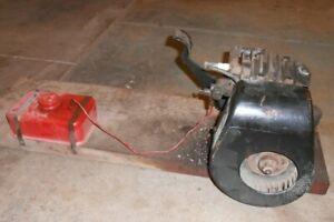 Briggs & Stratton engine model WM kick start washing machine - runs