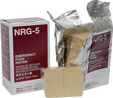 NRG 5 Emergency Food Ration Biscuits British French NATO Army Outdoor Survival