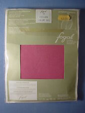 Fogal Style 193 La Campagnarde Opaque Pantyhose Size Medium in Cyclame