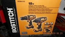 """Bostitch 18V Lithium 2 Tool Combo Set 1/2"""" Drill/Driver and 1/4"""" Impact Driver"""