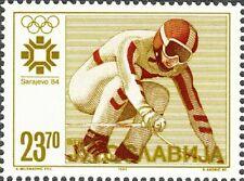 YUGOSLAVIA - 1984 - Olympic Winter Games in Sarajevo - Downhill Skiing - #1671