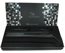 "Royale Classic Black Ceramic Flat Iron / Hair Straightener (1-1/4"") Authentic"