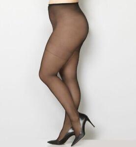 NEW Avenue Body Comfort Pantyhose Sizes 1x/2x/3x/4x C/D/E/EE Coffee Black Beige