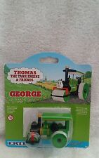 ERTL Thomas the Tank Engine George steam roller -  sealed On 1996 Card