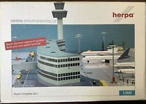 Herpa Wings 516792 Airport Complete Set I, 1:500 Sold out