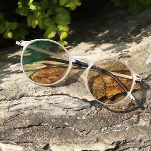 New Retro Oval Transition Reading Glasses Photochromic Grey Reader +0.00~+4.00