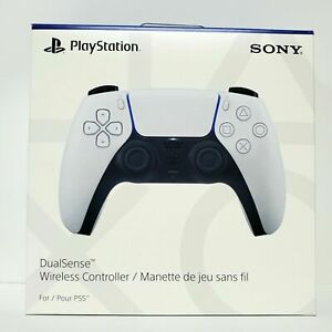 Sony Playstation 5 PS5 DualSense Bluetooth Wireless Controller White - Brand New