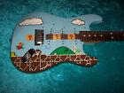 Super Mario Bros USA Fender stratocaster American standard strat nintendo nes for sale