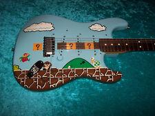 Super Mario Bros USA Fender stratocaster American standard strat nintendo nes