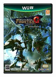 Monster Hunter Frontier G Beginner's package Wii U Japan Import