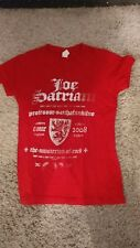 Joe Satriani 2008 Tour The Musterion Of Rock Concert T-shirt professor women's M