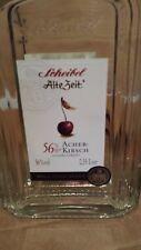 """1 Flasche Scheibel """"Alte Zeit"""" Acher Kirsch 56% 0,35 ltr. Original mit Siegel"""