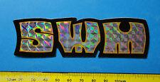 SWM - adesivo-sticker anni 80 - NUOVO-NEW -A1