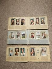 More details for cigarette card albums. 3 albums inc kings & queens .1066-1935, also 1910-1935