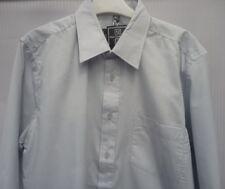 New Men's Elliette Jones Shirt - Classic Polycooton Long Sleeve Grey 15 1/2