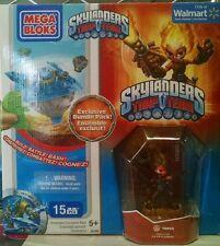 Skylanders Trap Team Torch Core Figure+Mega Bloks Walmart Exclusive 2015 Bundle